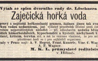 Josef Löschner doporučuje Zaječickou