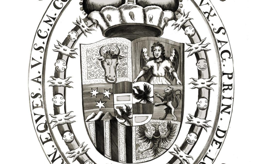 Litografie erbu Lobkowicz