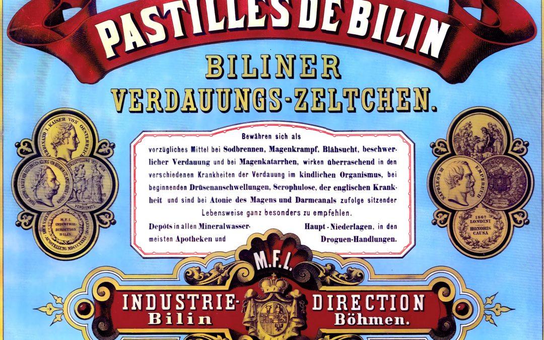 PASTILLES DE BILIN 1860