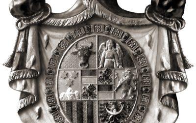 Fotografie erbu Lobkowicz 1900