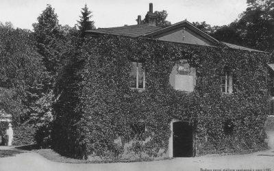 Budova první plnírny Bílinská a Sedlecká voda 1786