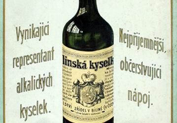 Přirozená Bílinská kyselka 1910